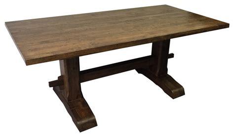trestle farmhouse table farmhouse dining tables by