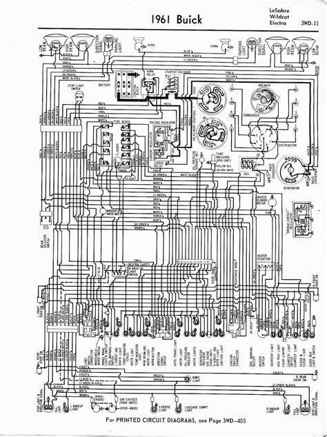 Free Auto Wiring Diagram: 1961 Buick LeSabre, Wildcat