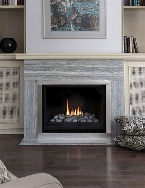 Montigo Gas Fireplaces by Montigo Gas Fireplace H Series Single Sided H34df