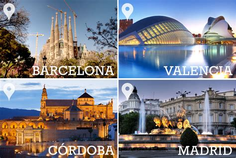 barcelona to madrid discovering barcelona valencia c 243 rdoba and madrid 6 nights