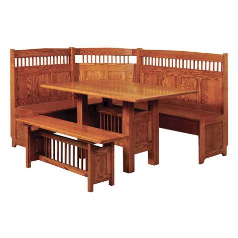 breakfast nook furniture amish breakfast nooks amish furniture shipshewana furniture co