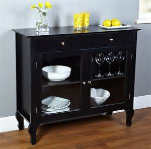 kitchen buffets furniture modern buffet cabinet dining room furniture kitchen storage table black ebay