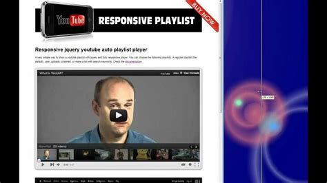 Auto Playlist by Responsive Jquery Auto Playlist Player For