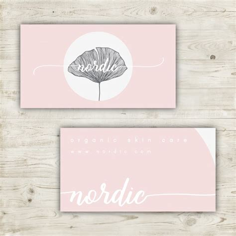 pastel color card templates minimalist business card design in pastel colors vector