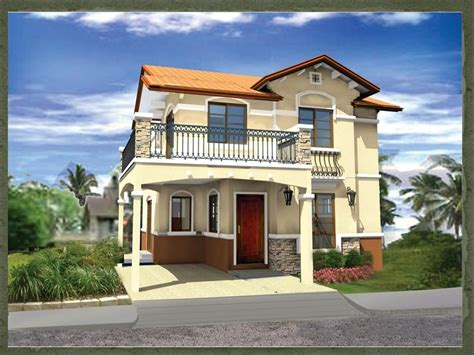 house design plans philippines sapphire dream home designs of lb lapuz architects