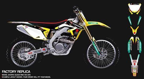 suzuki drz 400 sm dekor suzuki dekore mx kingz motocross shop
