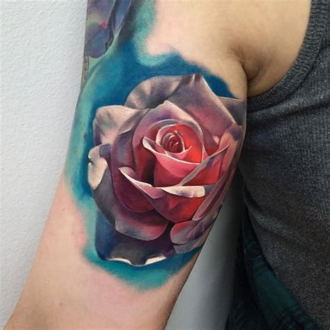 3d rose tattoo 60 pictures of terrific golfian