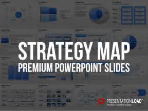 strategy map template powerpoint strategy map powerpoint template