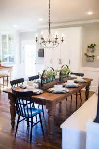 Farmhouse Dining Room Lighting Favorite Fixer Dining Rooms