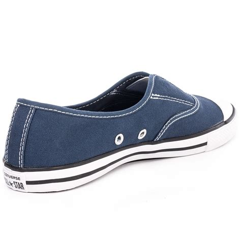 sale converse ctas cove womens slip on shoes navy white
