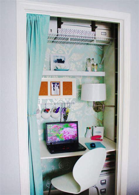 Home Office In A Wardrobe by O 249 Installer Bureau Lorsqu On Manque De Place