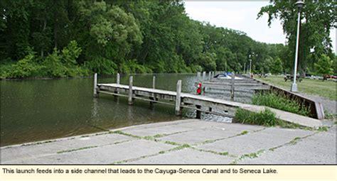seneca lake boat launch finger lakes new york state parks ontario county