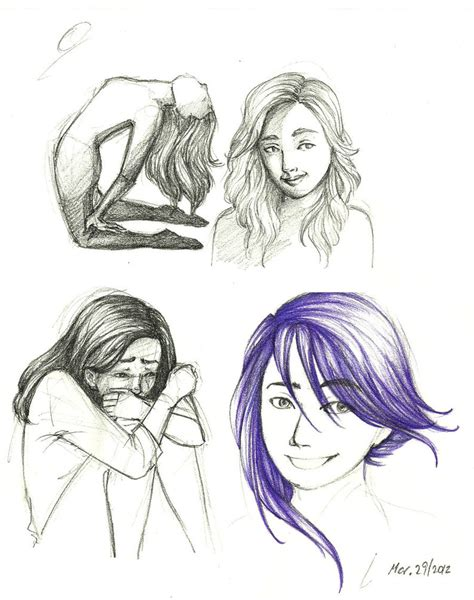 doodle hair do hair doodles by charmontez on deviantart
