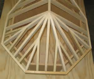 How To Build A Hip Roof Gazebo Octagon Roof Framing And Crown Molding Angles Development