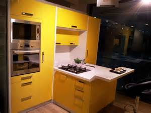 Kitchen Wardrobe Designs Yellow Kitchen Wardrobe