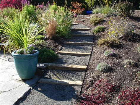 Landscape Timbers For Edging Staircase Green Thumb Landscaping