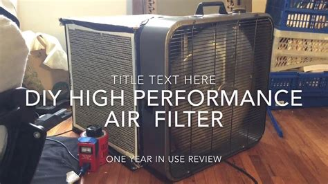 box fan hepa filter diy box fan air filter purifier high performance one