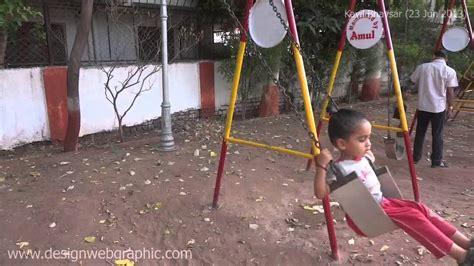 kids swing india kavil playing in playground kids garden swing at amul