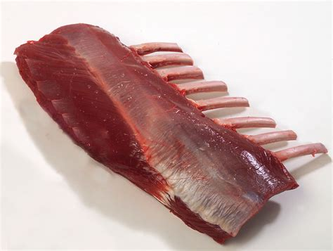 Frenched Rack by Elk 8 Rib Frenched Rack Average Weight 2 5 To 3 3lb