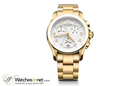 victorinox swiss army chrono classic 241537 s gold