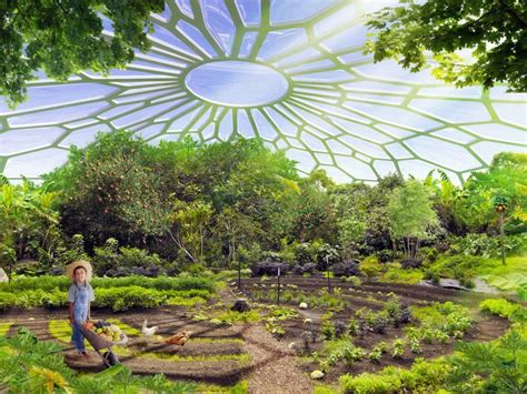 Self Sustaining Garden urban farming utopia in india produces more energy than it
