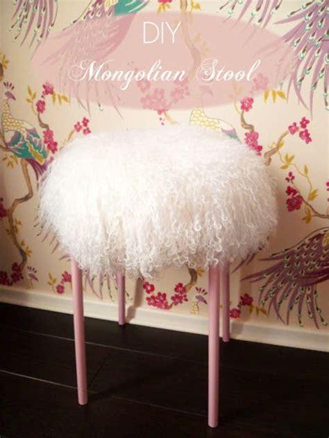 Girly Vanity Stool Diy Mongolian Stool Ikea Hackers Everyone A