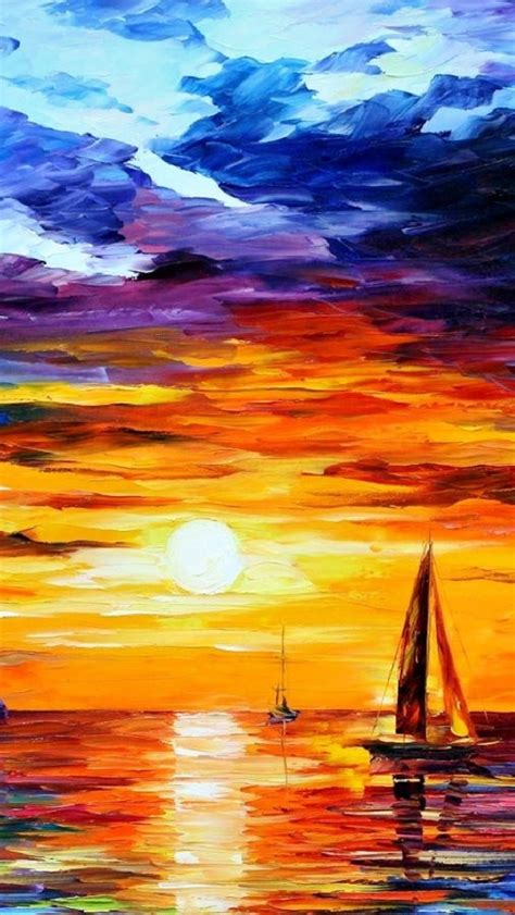 painting for 5 dusk painting iphone 5 wallpapers top iphone 5