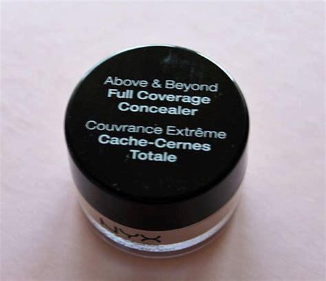 Nyx Above And Beyond Concealer test concealer abdeckstift nyx above beyond