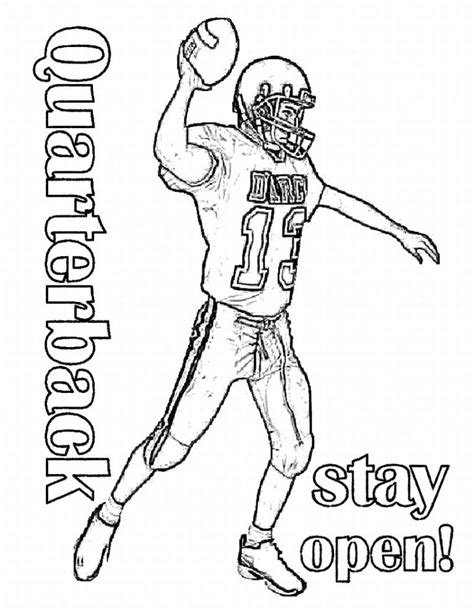 coloring pages sports football learn to coloring march 2009