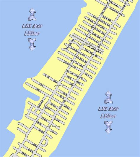 lbi map map of lbi towns pictures to pin on pinsdaddy