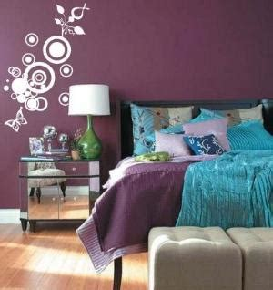 purple and turquoise bedroom would love to paint my room peacock green
