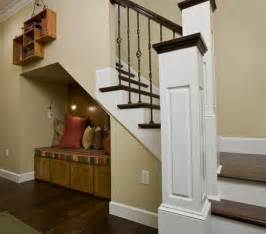 just use stairs as storage space room decorating ideas