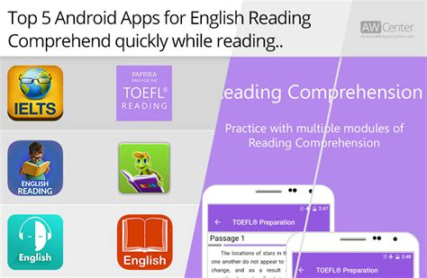 best reading app for android top 5 android apps for english reading comprehend while