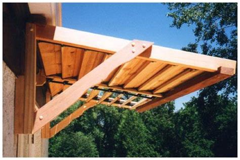 homemade awning for patio homemade door awnings hot tub awning house pinterest