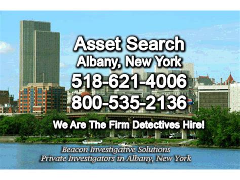 Asset Search New York Albany Asset Search Beacon Investigative Solutions