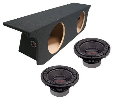 Jeep Wrangler Unlimited Subwoofer Box Power Acoustik Cw2 104 Sub Jeep Wrangler Unlimited 07 13