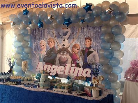 arreglos de mesa de globos de frozen decoracion frozen youtube