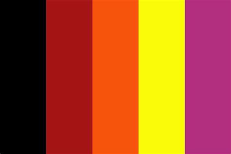 desert sun color palette