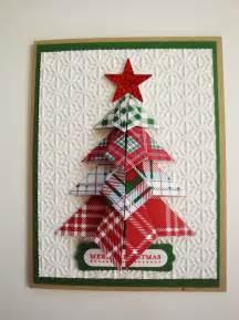 Penguinstamper origami christmas tree