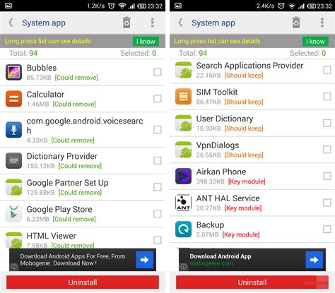 remove bloatware android how to free up storage space on your android phone or tablet