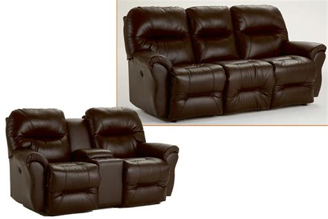 Leather Sofa With Recliner Reclining Jasen S Furniture Since 1951
