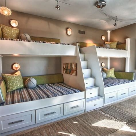 double bunk beds children s bedroom arquitetura e decora 231 227 o pinte