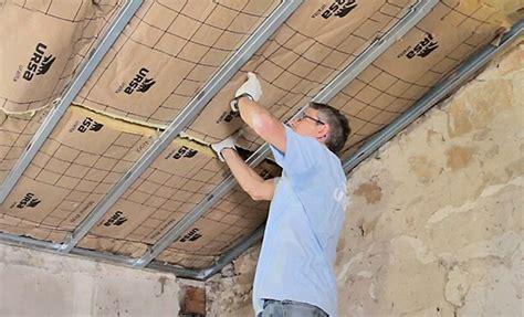 Comment Isoler Un Plafond by Isolation Thermique D Un Plafond Sous Rant