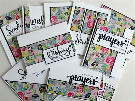Patterned Paper For Card - one sheet template tutorial tips