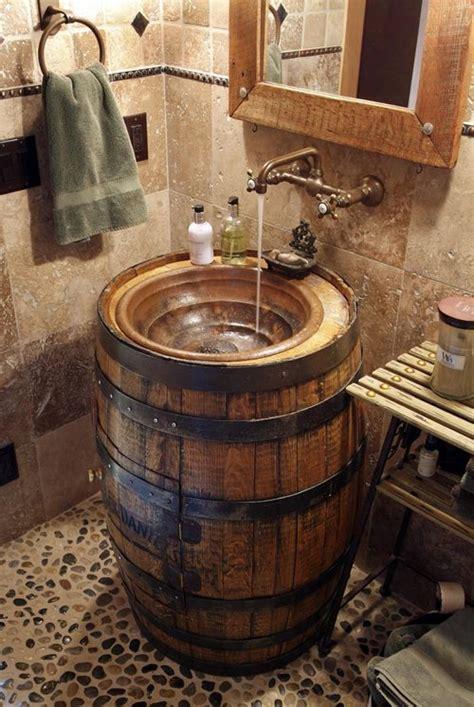 Rustic Bathroom Sink by 17 Inspiring Rustic Bathroom Decor Ideas For Cozy Home Style Motivation