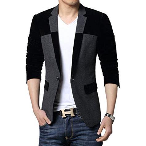Jaket Jas Blazer Exclusive Abu Abu mogu s 1 button center vent wool blend blazer jacket