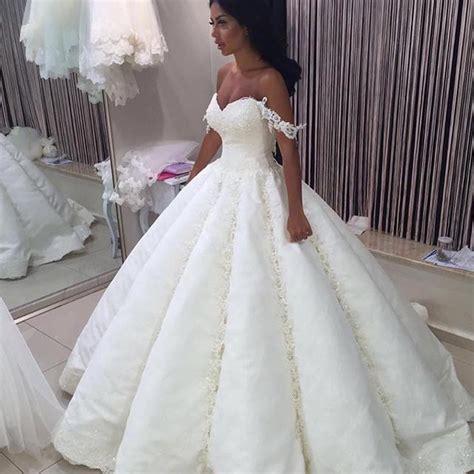 Big Wedding Dresses by Vestido De Novia Trouwjurk Luxury Big Gown Dubai Lace