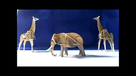 imagenes con movimiento de animales puzzle 3d con movimiento animales salvajes youtube