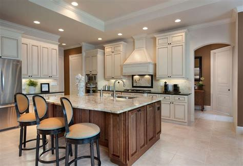 in home kitchen design model home photo gallery about us two tone kitchens