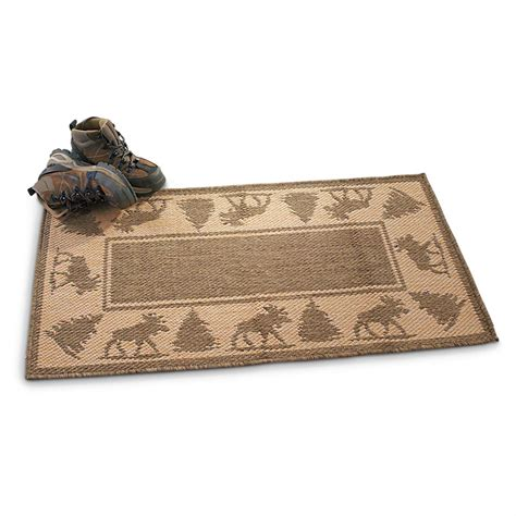 Small Outdoor Rug Small Outdoor 23x43 Quot Rug 211315 Outdoor Rugs At Sportsman S Guide